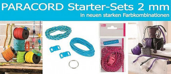Paracord-Starter-Sets 2 mm