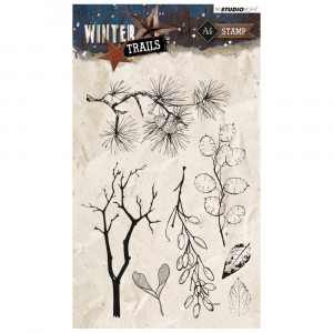 Stempel Clear, WINTER TRAILS, A6 / 105 x 148 mm, 7 - teilig, transparent 301