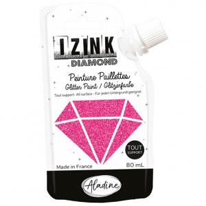 IZINK DIAMOND, 80 ml, fushia
