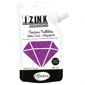 IZINK DIAMOND, 80 ml, violett