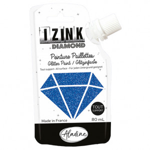 IZINK DIAMOND, 80 ml, marineblau